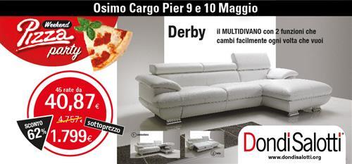 DONDI SALOTTI PIZZA PARTY a Ancona - SiHappy