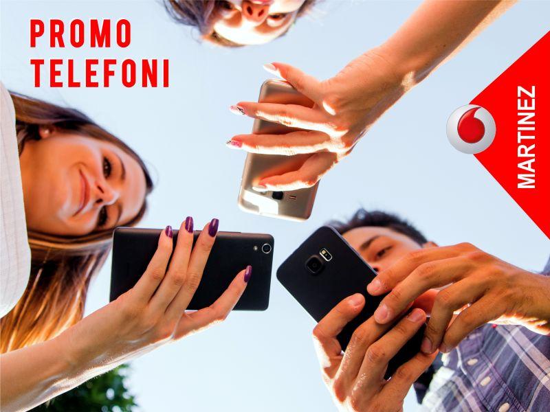 Offerta smartphone - promozione telefoni - Vodafone Store Martinez Trapani