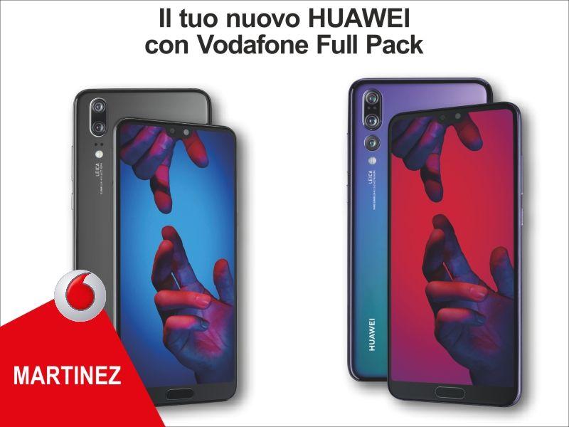 Offerta Abbonamento Huawei - promozione smartphone full pack - Vodafone Store Martinez