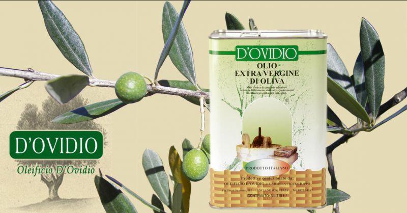 Oleificio D'Ovidio Offerta Lattina 3L. vendita online olio extravergine made Italy Abruzzo