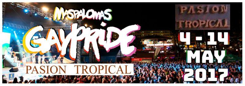 Oferta Noche Gay Pride Maspalomas 2017 - Ocasión resort 13 Mayo vagòn Gay Pride de Gran Canaria