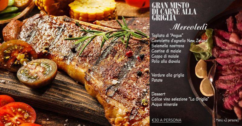 Offerta grigliata di carne alla brace como - occasione mangiare carne mista alla griglia como