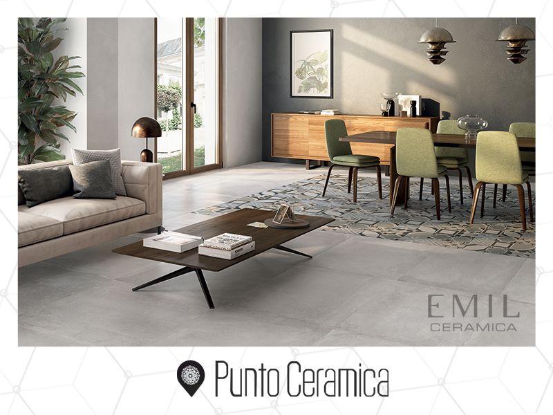offerta pavimento effetto cemento  -promozione collezione besquare emilceramica- punto ceramica