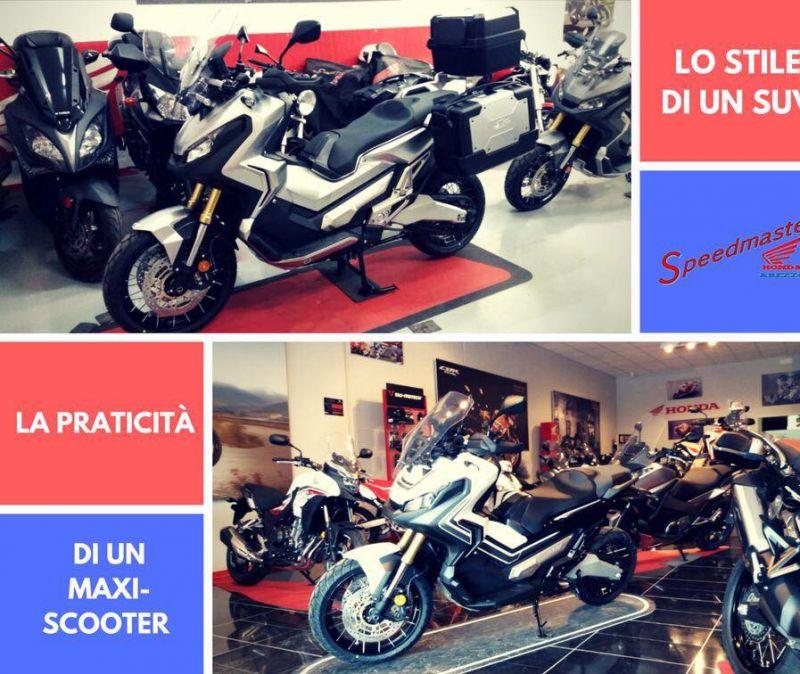 Speedmaster - Honda Arezzo - moto arezzo