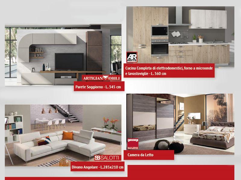 Offerta arredamento completo soggiorno prezzi bassi a Salerno - Il Salotto e dintorni