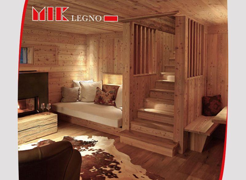 Offerta realizzazione soggiorni in legno massello - Promozione distribuzione soggiorni in legno