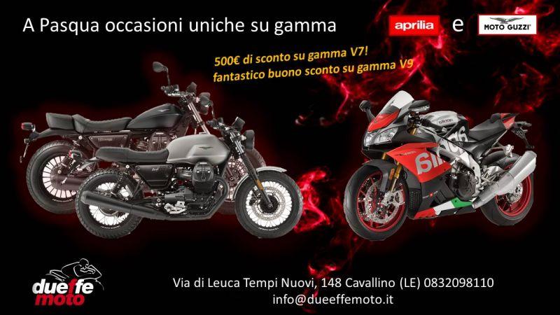 offerta occasioni uniche Aprilia e Moto Guzzi