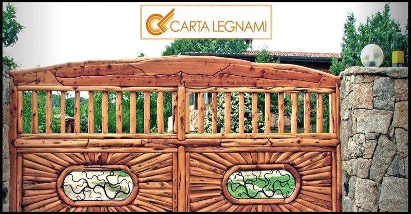 Carta Legnami oferta producción artesanal de muebles de madera y vallas TENERIFE ARONA