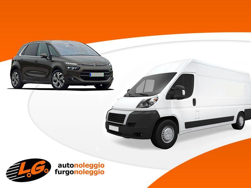 Offerta Noleggio Giornaliero Auto - Promozione Noleggio Giornaliero Furgoni - LG Autonoleggio