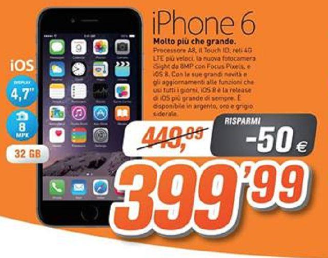 Offerta iPhone6 - Scopri di piu' da ElettroShop