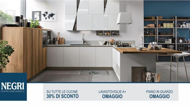 promozione vendita cucine moderne a Cadeo - offerta elettrodomestici da incasso classe A