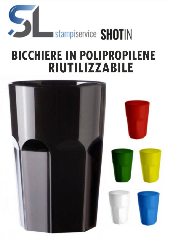 Offerta Bicchieri in plastica polipropilene - Occasione Bicchieri in plastica polipropilene
