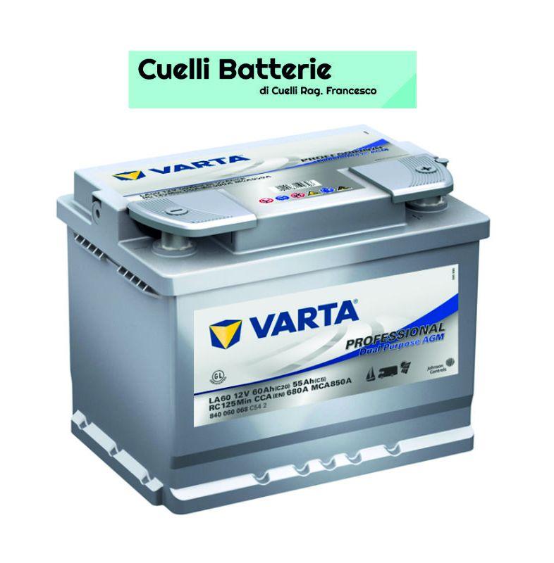 promozione batterie auto offerta varta 60 ah cuelli batterie brescia