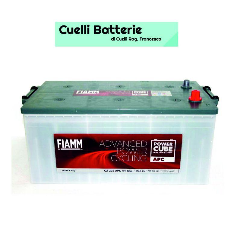 promozione batterie auto offerta fiamm 225 ah cuelli batterie brescia
