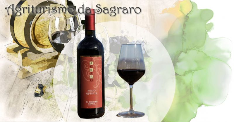 AGRITURISMO DA SAGRARO - Occasione vendita online migior vino ROSSO QUESCIA dei Colli Berici