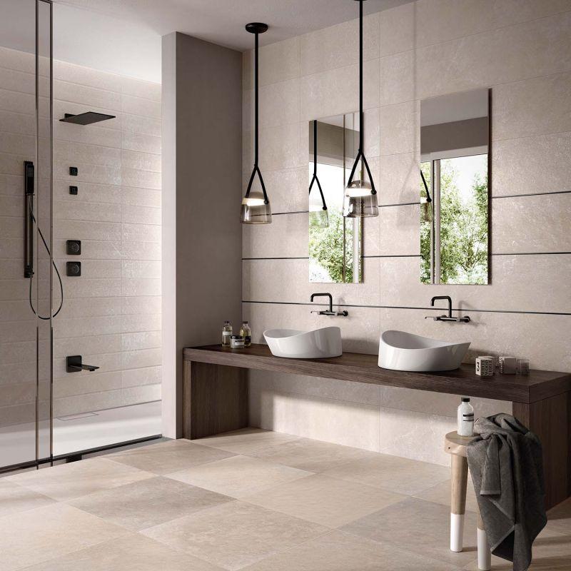 Piastrelle Da Bagno. Interesting Moderno Stanza Da Bagno By ...