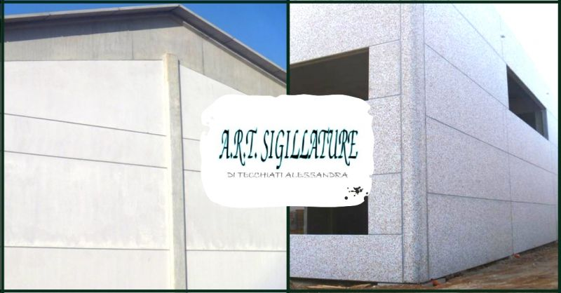 ART SIGILLATURE - offerta sigillature per interni ed esterni di ogni dimensione Verona