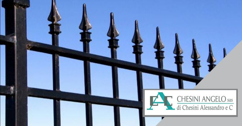 offerta installazione cancelli pedonali - occasione cancelli artigianali in acciaio Brescia