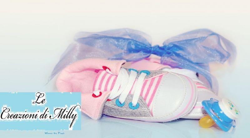 Le Creazioni di Milly offerta corredo neonato - occasione corredino fatto a mano Potenza