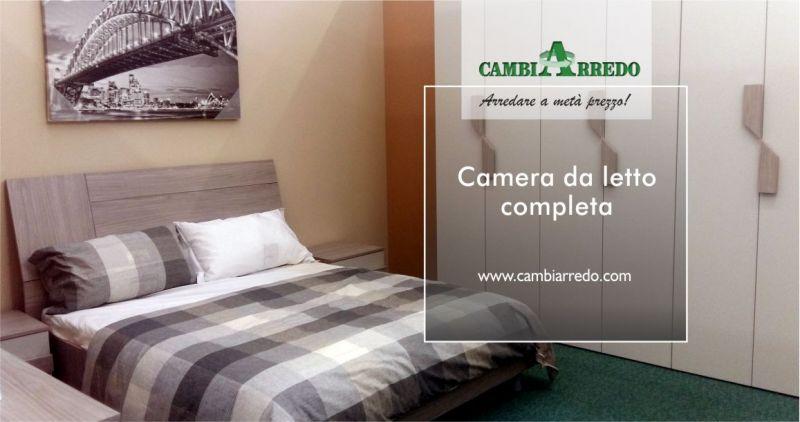 offerta vendita camera da letto completa  - occasione arredamento zona notte metà prezzo