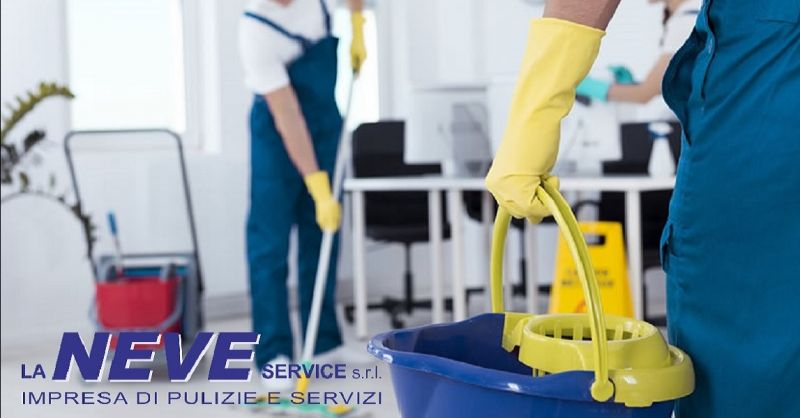 LA NEVE SERVICE offerta pulizie per uffici Verona - occasione pulizie per enti pubblici Verona