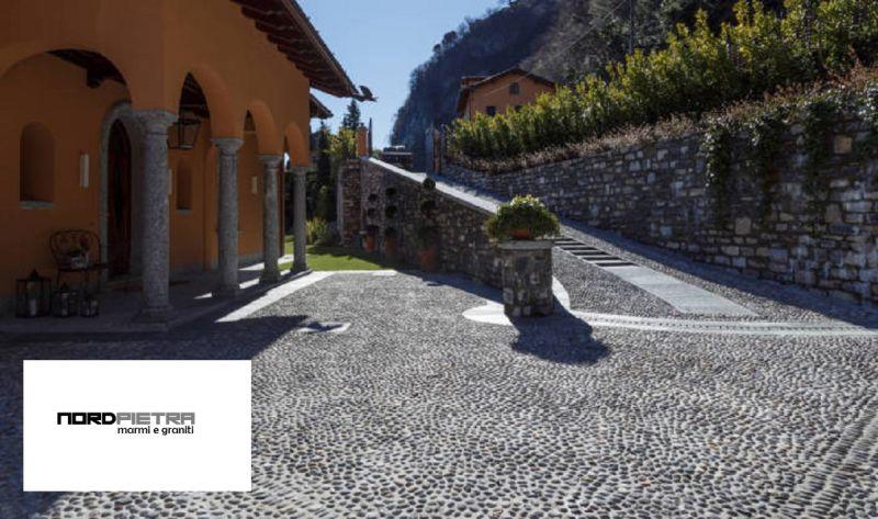 Offerta lavori posa in opera pavimentazione esterna - Promozione posa pavimentazione in pietra