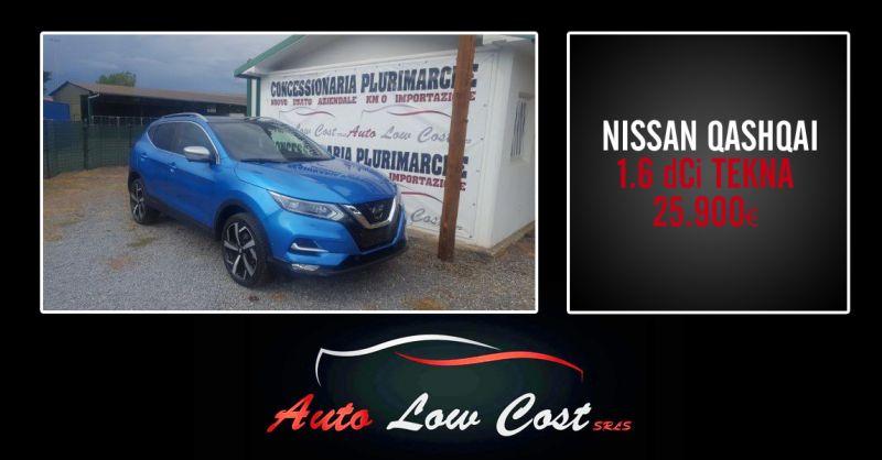 AUTO LOW COST - offerta Nissan Qashqai usato garantito viterbo
