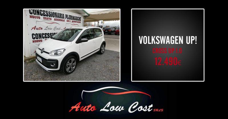AUTO LOW COST - offerta Volkswagen cross up come nuova pronta consegna viterbo