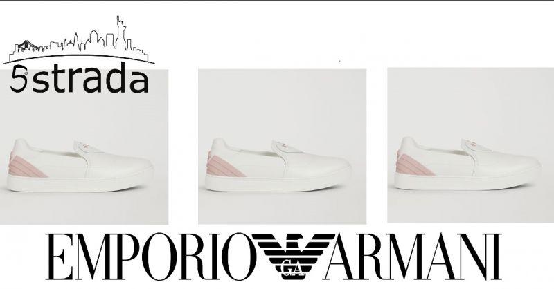 Offerta Borse in pelle artigianale Olivia Pope ecommerce promozione vendita  online pelletteria. promozione Slip on donna emporio Armani pelle bianca  rosa ... 676859e80ac