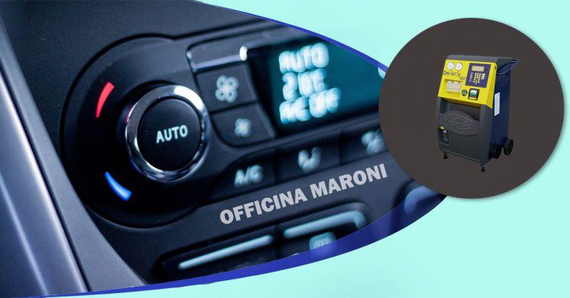 Offerta Ricarica aria condizionata impianto climatizzazione a Torino -  Officina Maroni