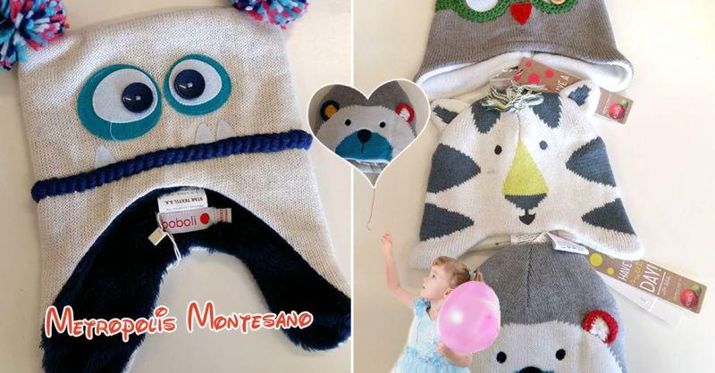 Offerta vendita cappelli invernali per bambini Montesano sulla Marcellana - Metropolis