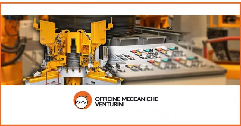 O.M.V. Offer of special machines for rolling mill - Promotion of special customized machines