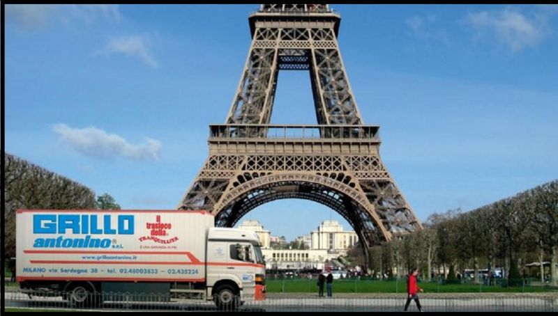 GRILLO TRASLOCHI Promotion de services complets pour déménagements internationaux FRANCE ITALIE