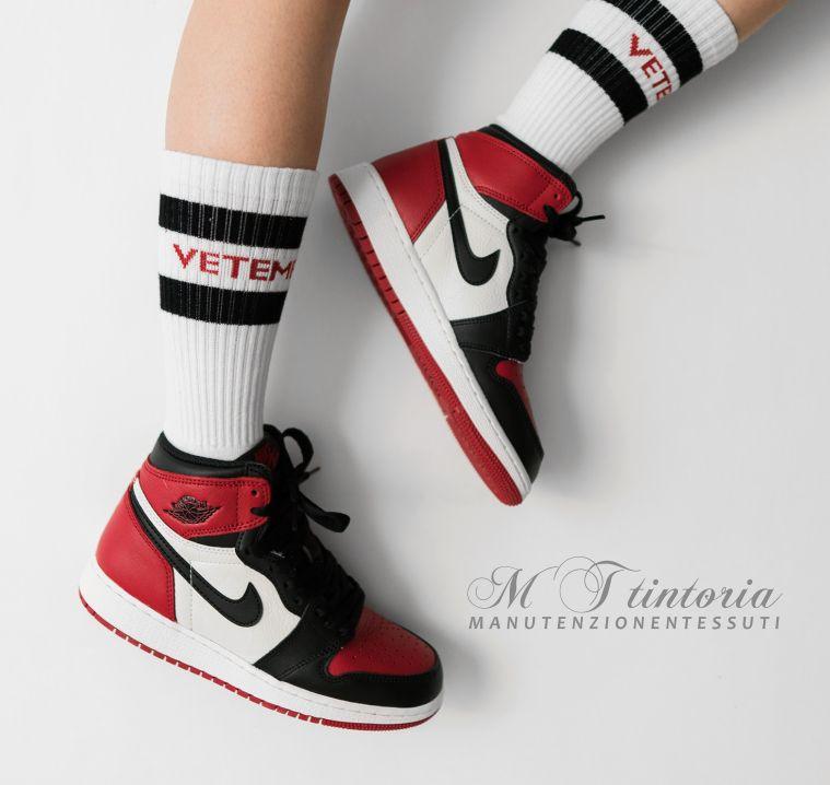 MT TINTORIA offerta lavaggio professionale sneakers - promozione lavaggio scarpe da ginnastica