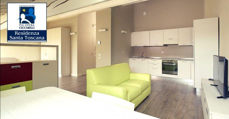 RESIDENZA SANTA TOSCANA - offerta appartamenti condivisi per anziani autonomi Verona