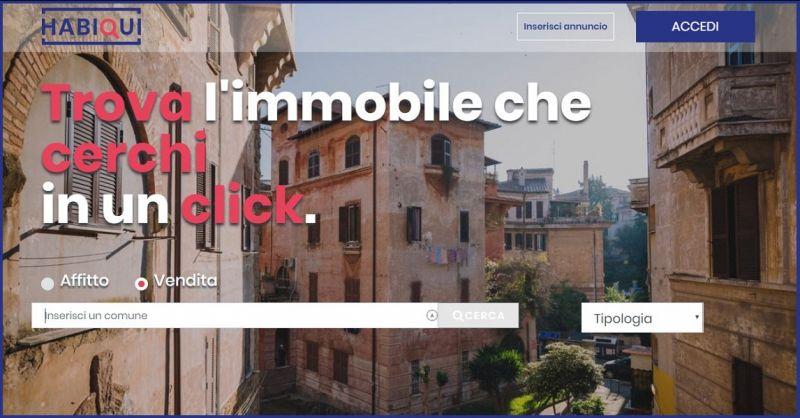 HABIQUI - Offerte portale ricerca immobili in vendita affitto in italia con annunci d'agenzia