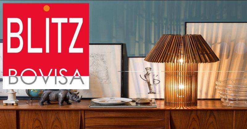 Blitz Bovisa offerta vendita Skitsch Woodtable - occasione vendita lampade da tavola