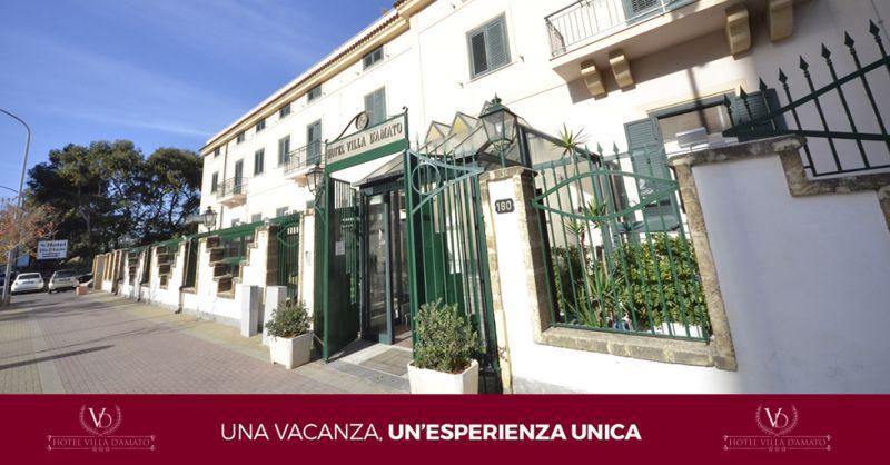 HOTEL VILLA D'AMATO offerta parcheggio gratis hotel palermo