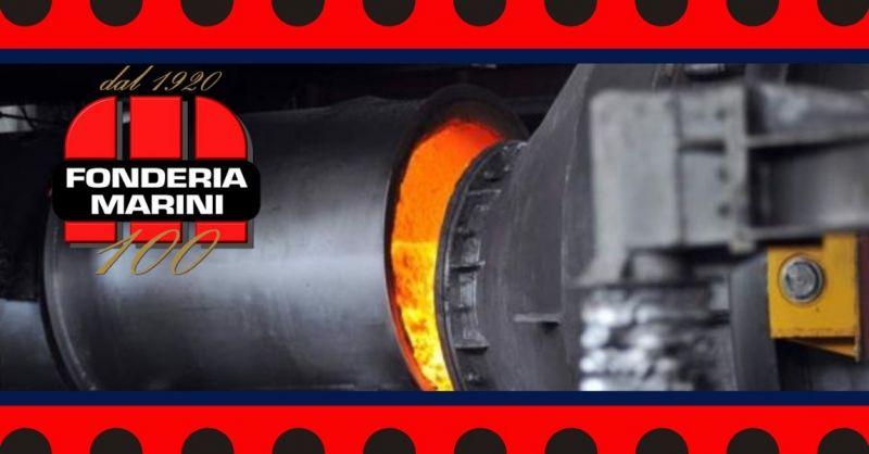 FONDERIA MARINI - Encuentra la mejor empresa italiana especializada en producción de fundiciones de hierro