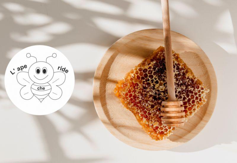 L'APE CHE RIDE DI BIDOJA ELENA offerta cera d api - promozione cera vergine in panetti