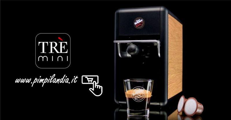PIMPILANDIA NEGOZIO ONLINE - OFFERTA MACCHINA CAFFÈ MINI TRÈ VERGNANO TRE VARIANTI DI COLORE