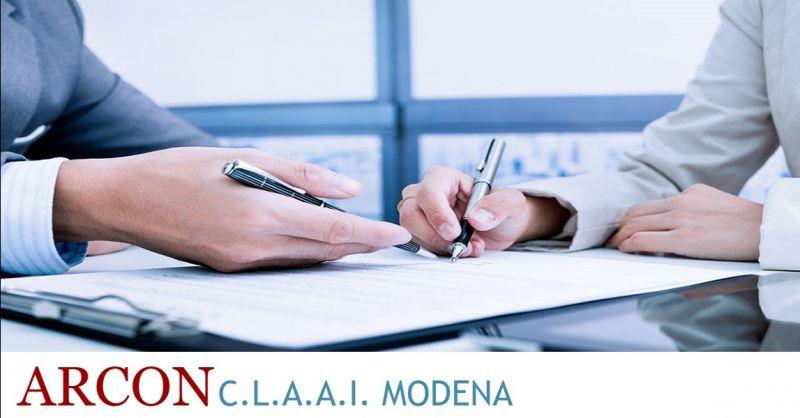 ARCON CLAAI offerta licenze e autorizzazioni - occasione Associazione Sindacale Artigiani