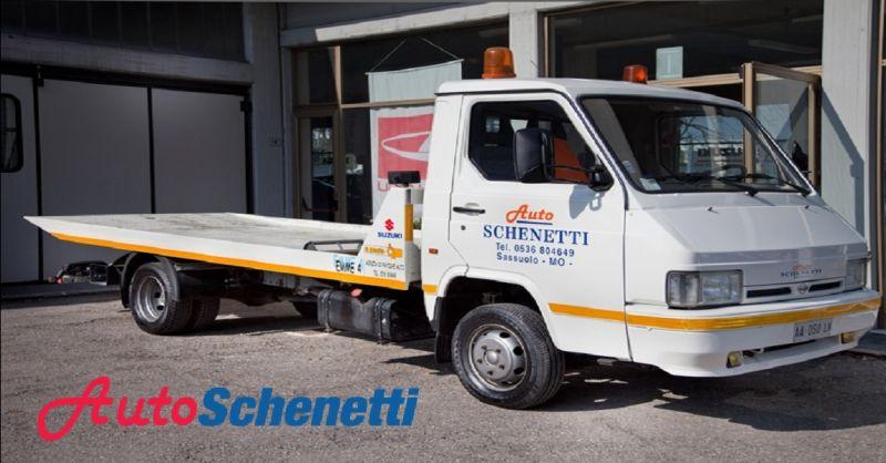 AUTO SCHENETTI offerta soccorso stradale a Sassuolo - occasione auto sostitutiva a Sassuolo