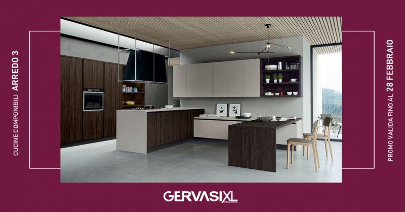 GERVASI XL - offerta cucine componibili arredo 3 termini imerese