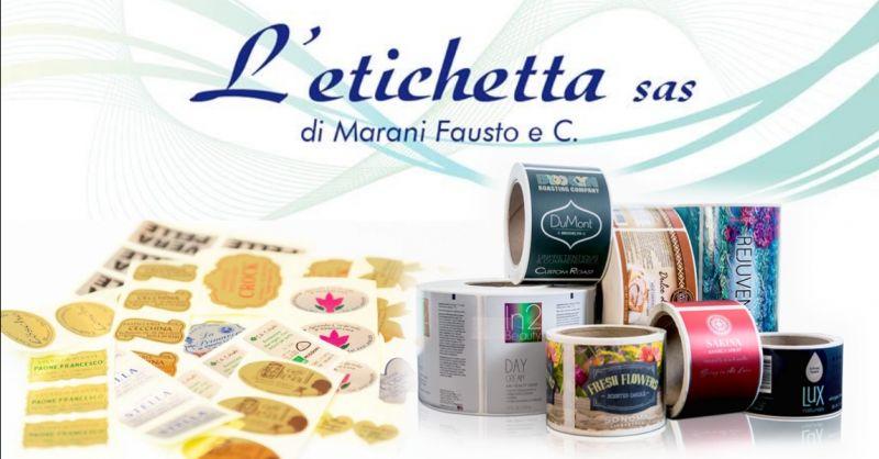 offerta realizzazione etichette adesive su carta - occasione servizi di stampa digitale Verona