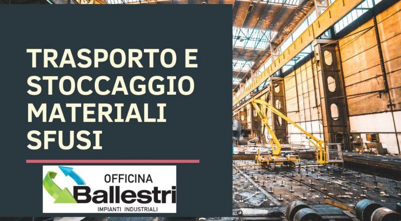 Vendita Impianti di trasporto e stoccaggio materiali sfusi a Modena – offerta impianti e macchine ecologiche per la macinazione