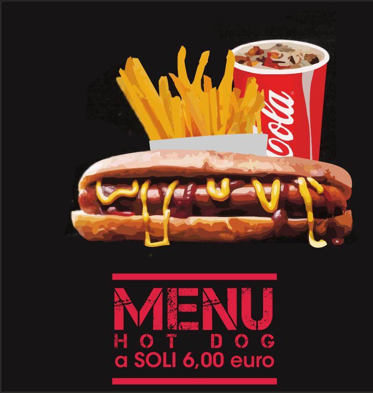 DA VINCI offerta menu hot dog - promozione consegna a domicilio gratuita