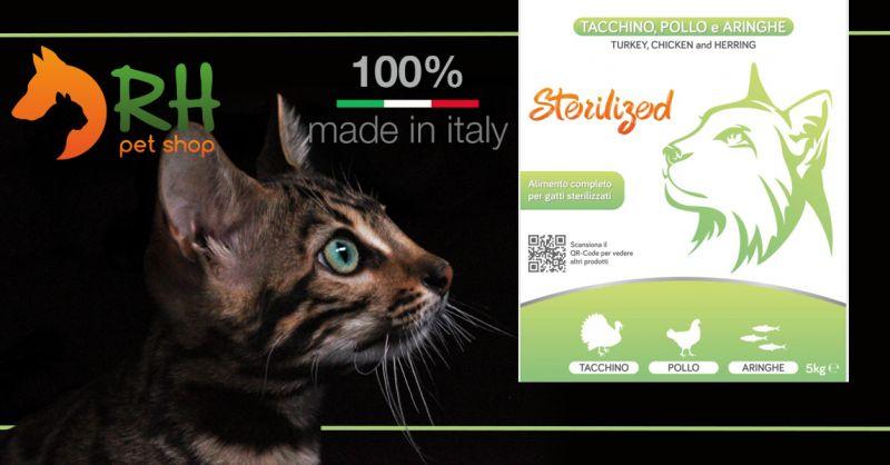 Offerta Vendita  online Crocchette Per Gatti Sterilizzati - Occasione Gatto Adulto Sterilizzato croccantini