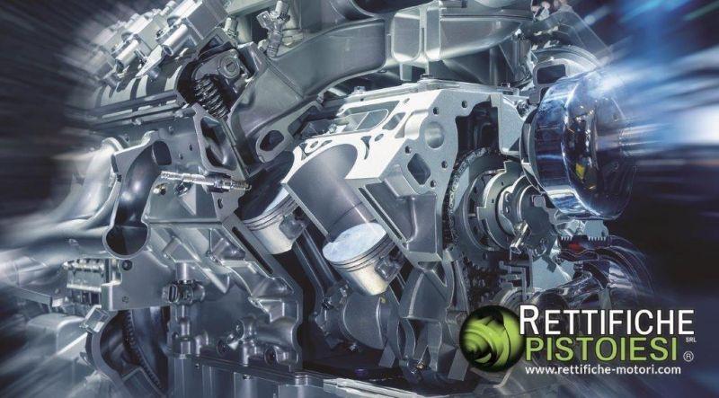 RETTIFICHE PISTOIESI SRL - Motores de automóvil completamente reconstruidos fabricados en Italia