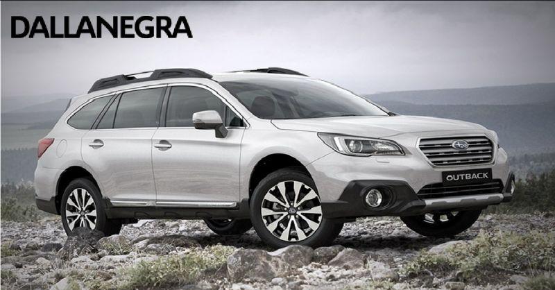 DALLANEGRA SRL offerta concessionaria Subaru Piacenza - occasione vendita auto Subaru Piacenza